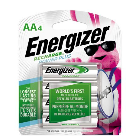 91d990db4 Energizer Rechargeable Batteries - image 1 of 1 ...