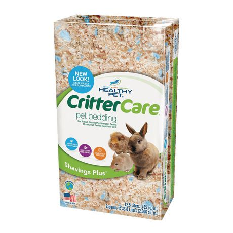 Crittercare Shavings Plus Pet Bedding Walmart Ca
