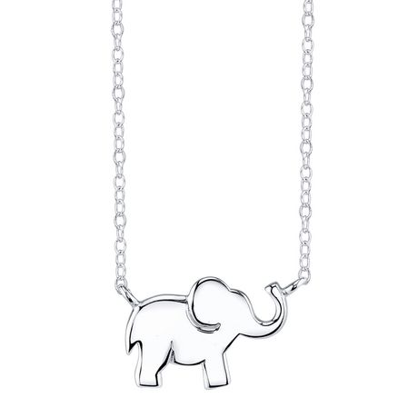Inspire Elephant Necklace - image 1 of 1