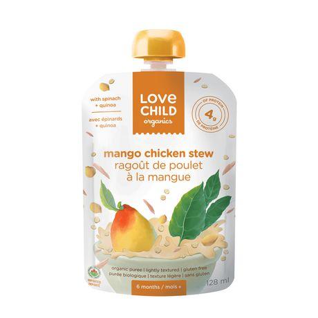 LOVE CHILD ORGANIC BABY FOOD