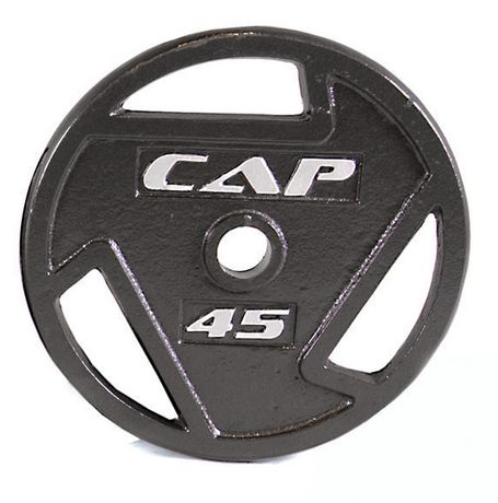 Cap Barbell 2 Inch Olympic Grip Plate 45 Lbs Walmart Canada