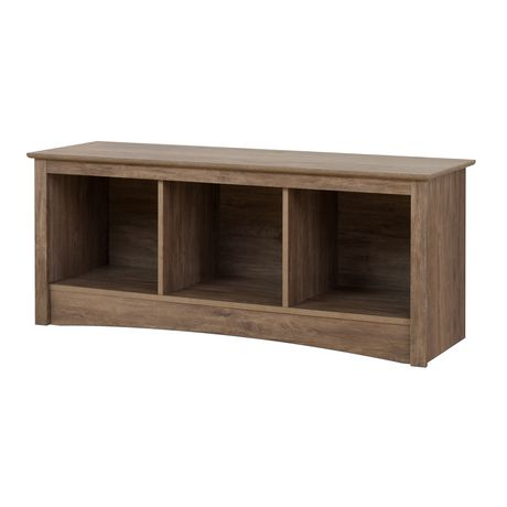 Prepac Drifted Gray Cubbie Bench - image 2 of 5