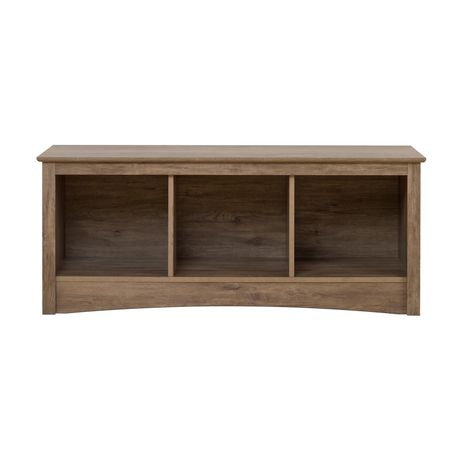 Prepac Drifted Gray Cubbie Bench - image 4 of 5