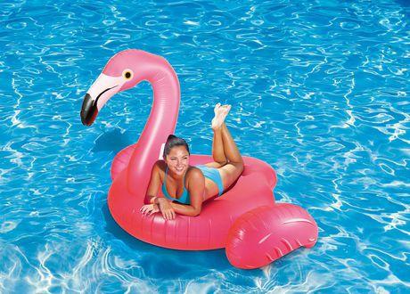 Play Day Large Flamingo Pool Float - image 1 of 3
