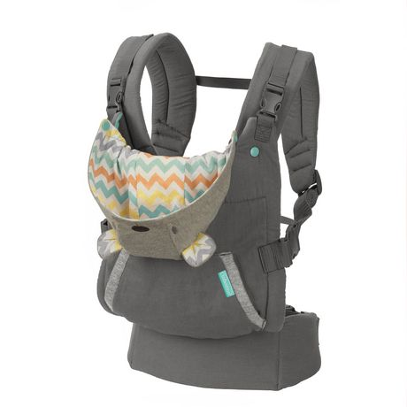 ccf0d338ee3 Infantino Llc Infantino Cuddle up Ergonomic Hoodie Baby Carrier - image 1  of 5 ...