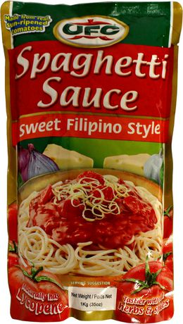 Ufc Sweet Filipino Spaghetti Sauce Walmart Canada