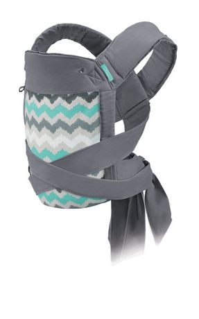 4ccc8aaba66 Infantino Sash Ikat Chevron Wrap   Tie Mei Tai Baby Carrier - image 1 ...