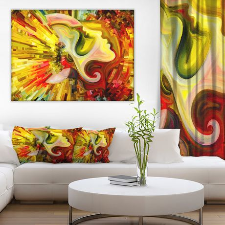 OFFRAY Design Art beyond Inner Paint Canvas Print - image 1 of 3