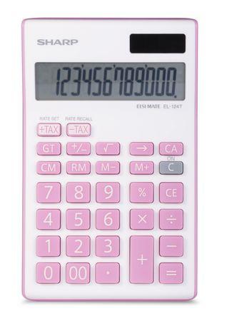 Sharp 12 Digit Pink Calculator - image 1 of 1