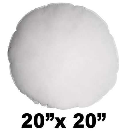 hometex round polyester fill pillow form | walmart canada