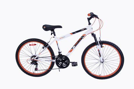 Trail Mountain Bikes >> Ozark Trail 24 Front Suspension Mountain Bike