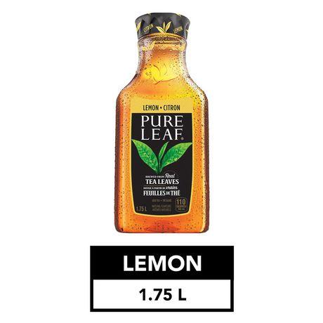 Pure Leaf Real Brewed Lemon Iced Tea Walmart Canada