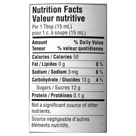 confiture de fraise valeur nutritionnelle