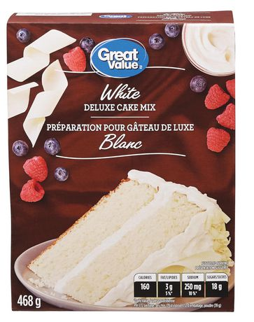Great Value Preparation Pour Gateau Blanc - image 1 de 4