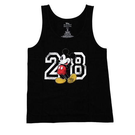 Mickey Mouse Ladies Print Tank top - image 1 of 1