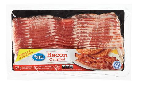 Great Value Naturally Smoked Bacon - image 1 of 1