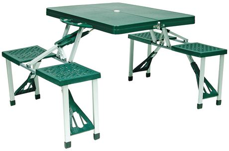 Merveilleux World Famous Folding Picnic Table Set