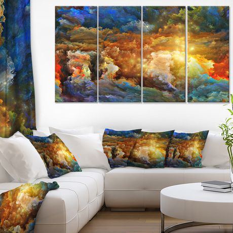 Design Art What Colors May come Canvas Print - image 1 of 2