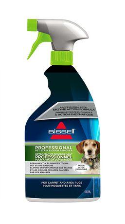 Nettoyant professional à l'action enzymatique BISSELL pour elminez les taches et les odeurs des animaux domestiques, 650mL - image 1 de 3