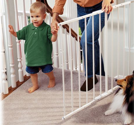 wooden safety stair gates