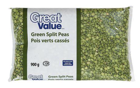 Great Value Green Split Peas - image 1 of 3