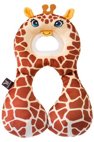 Appui-tête soutien total Savane de BenBat à motif de girafe - image 1 de 1