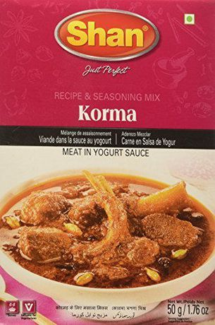 Shan Korma Recipe and Seasoning Mix - image 1 of 2