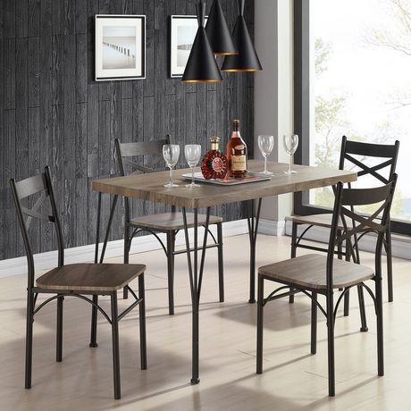 Dining Table Set 5 Pc Walmart Canada