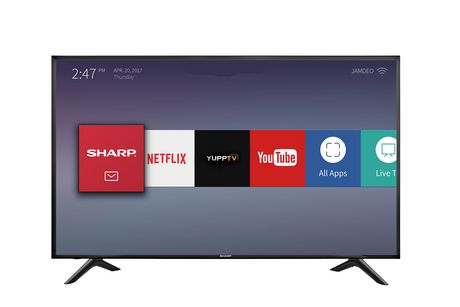 "Sharp 55"" 4K UHD Smart TV - image 1 of 6"