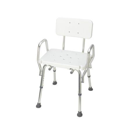 Chaise de bain solide DMI avec dossier - image 1 de 4