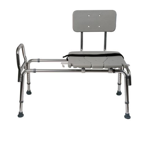 DMI Heavy-Duty Sliding Transfer Bench Shower Chair | Walmart Canada