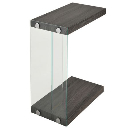 Table moderne en c for Table exterieur walmart
