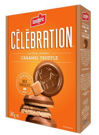 Celebration Milk Chocolate Top Butter Caramel Truffle Cookies - image 1 of 5