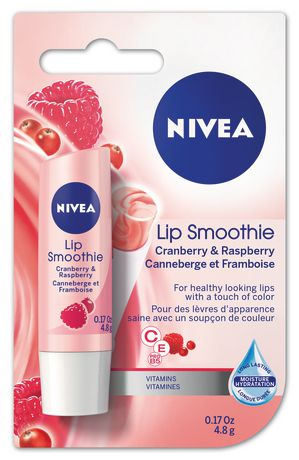 Nivea Lip Smoothie Cranberry & Raspberry 4.8 G - image 1 of 1