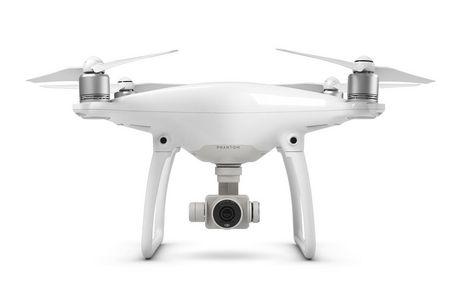 Quadricoptère Phantom 4 de DJI avec caméra et manette - image 1 de 2