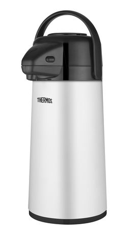 genuine thermos brand glass vacuum insulated pump pot 1 9 l walmart canada. Black Bedroom Furniture Sets. Home Design Ideas
