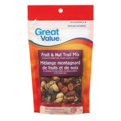 Great Value Fruit & Nut Trail Mix - image 1 of 2