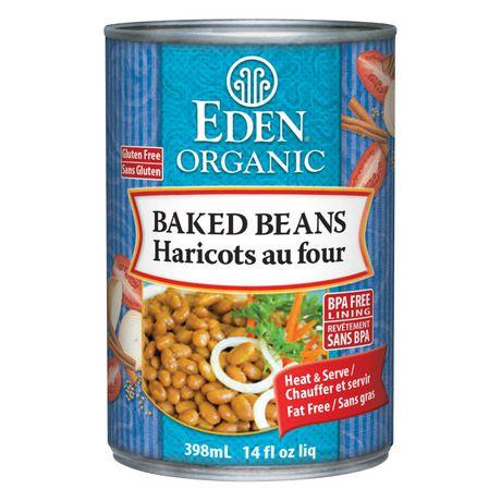 Haricots au lard biologiques d'Eden Foods - image 1 de 1