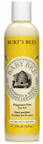 Burt S Bees Baby Bee Fragrance Free And Tear Free Shampoo