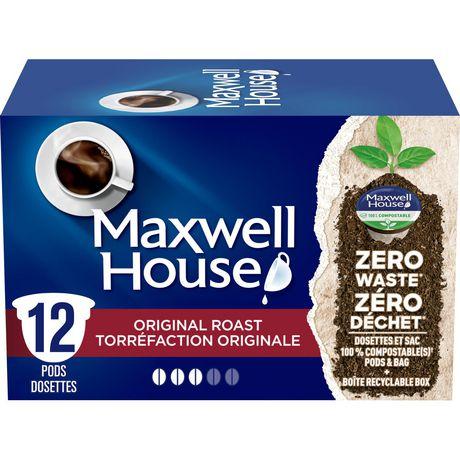 Maxwell House Original Roast Arabica Coffee Pods - image 1 of 1
