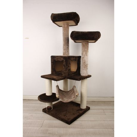 Prevue Pet Kitty Power Paws Party Tower Brown/Beige - image 1 of 1