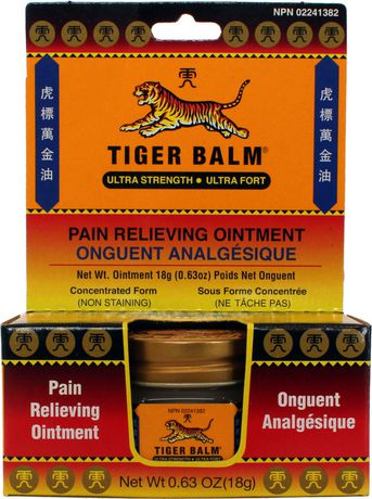 Tiger Balm Pain Relieving Ointement , Ultra Strength - image 1 of 1