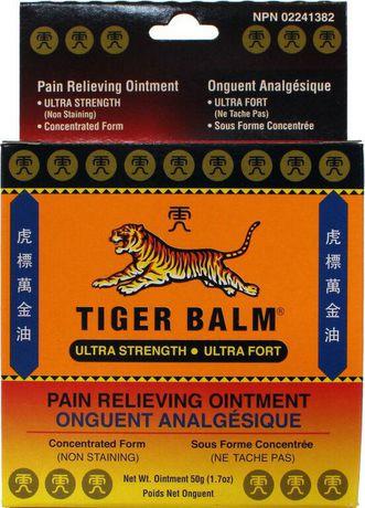 Tiger Balm Onguent Analgésique Ultra Fort Walmart Canada