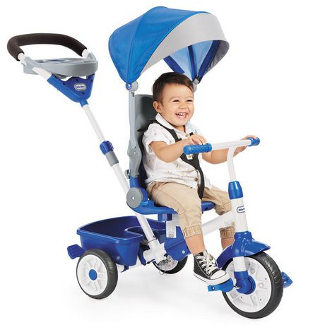 Little Tikes Tricycle Perfect Fit  4 en 1, sarcelle - image 1 de 5