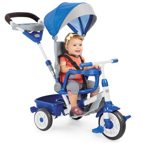 Little Tikes Tricycle Perfect Fit  4 en 1, sarcelle - image 2 de 5