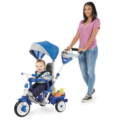 Little Tikes Tricycle Perfect Fit  4 en 1, sarcelle - image 3 de 5