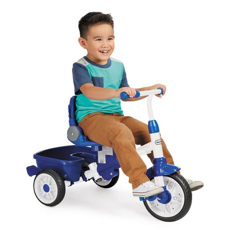 Little Tikes Tricycle Perfect Fit  4 en 1, sarcelle - image 4 de 5