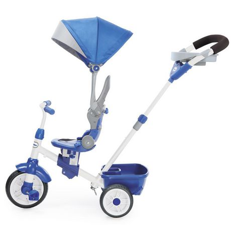 Little Tikes Tricycle Perfect Fit  4 en 1, sarcelle - image 5 de 5