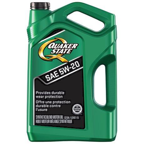 Quaker state advanced durability sae 5w 20 motor oil for Advance auto motor oil