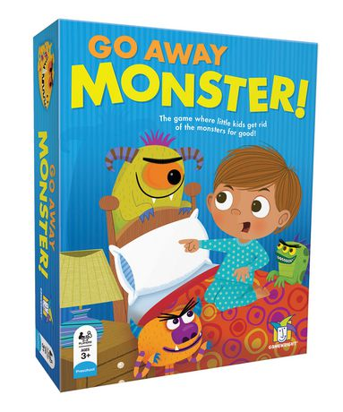 Gamewright Go Away Monster Board Game - English Only - image 1 of 2